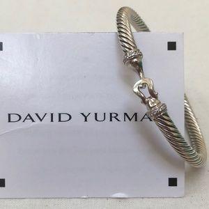 🔴Authentic DAVID YURMQN Diamond Bangle ❤️♥️🌺